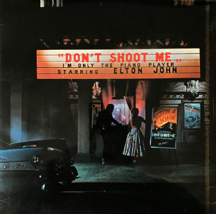 Elton John ‎- Don't Shoot Me I'm Only The Piano Player (LP) (VG+/VG-)